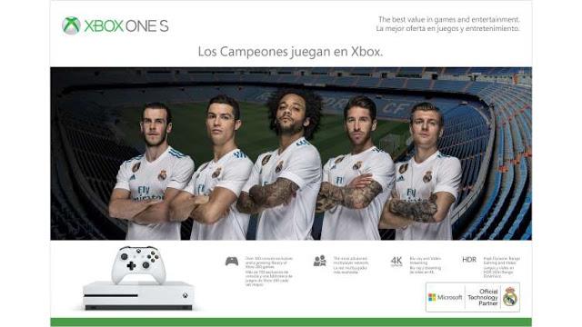 Xbox One S появится в специальной версии «Реал» Мадрид